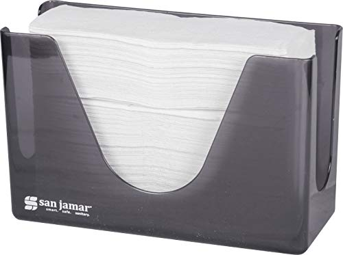 (San Jamar T1720TBK Countertop Towel Dispenser, Black Pearl)