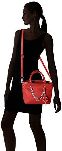 Liu Jo Poppa Shopper - Bolsos totes Mujer Rojo (Lacca)