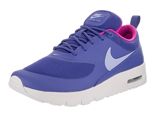 Nike Air Max Thea (PS) girls running-shoes 843746-404_11.5 - Comet Blue/Aluminum-White-Fire Pink by NIKE