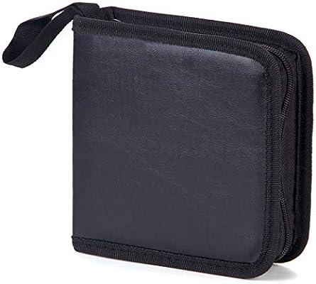 Bageek Porta CD Estuche CD Porta Cds DVD de 40 Disco DVD Bolsas Almacenamiento Disco Duro Portátil Caja Externa DVD: Amazon.es: Electrónica