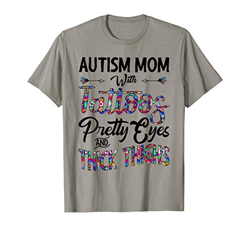 Autism Mom With Tatoos Pretty Eyes And Thick Thighs -