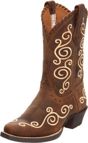 Amazon.com | Ariat Shelleen Western Boot (Toddler/Little Kid/Big ...