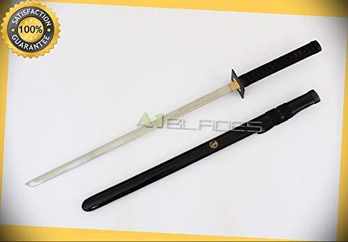 37'' Ninja Sword Samurai Sword Katana Stainless Blade Brand New perfect for cosplay outdoor camping