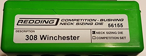 Competition Bushing Neck Die 308 Win Competition Neck Die