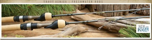 St. Croix Trout Series Spinning Rod, TSS64LF2