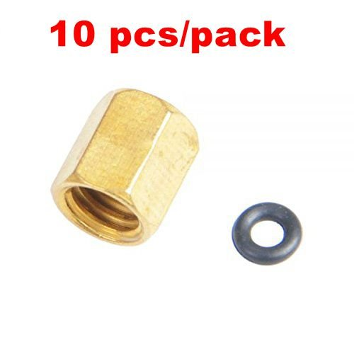 (Upper Copper Screw O-ring for Roland Mimaki Mutoh Small Damper Ink Piping 1.8x3mm--10pcs/packed )
