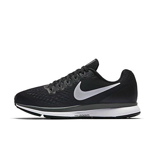 Nike Women's Air Zoom Pegasus 34 Running Shoe (Black/White-Dark Grey-Anthracite, 11.5)