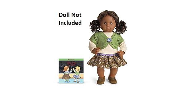af86d7af8c Amazon.com  American Girl Bitty Twin Corduroy Skirt Set  Toys   Games