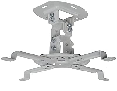 VIVO Universal Adjustable Ceiling Projector / Projection Mount Extending Arms