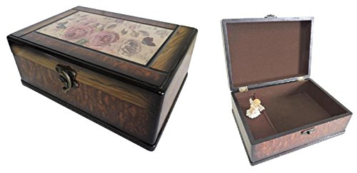 DINY Home & Style Musical Jewelry Box Decorative Laquer