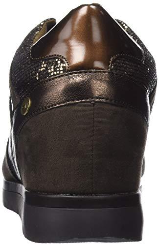 Xti Pantoufles Brun Bronce 48289 Femme Bottines bronce rp7EpxSwq