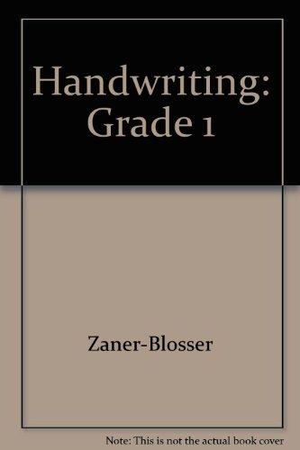 Handwriting: Grade 1