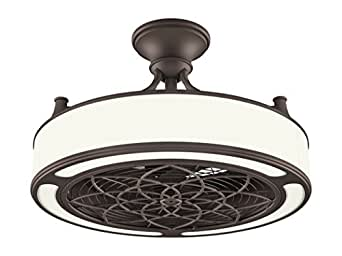 Stile Anderson 22 Inch Led Bronze Ceiling Fan With Remote