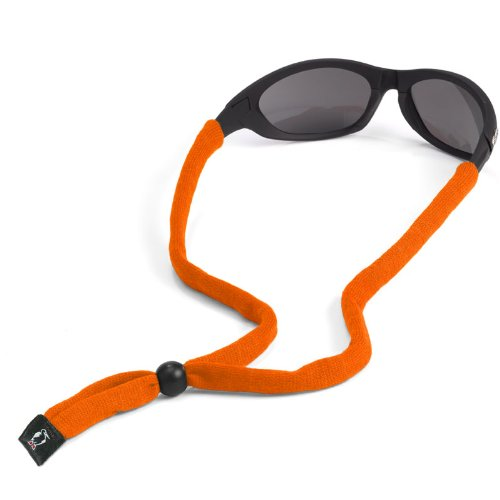 Chums Original Cotton Standard End Eyewear Retainer, Orange, Outdoor Stuffs
