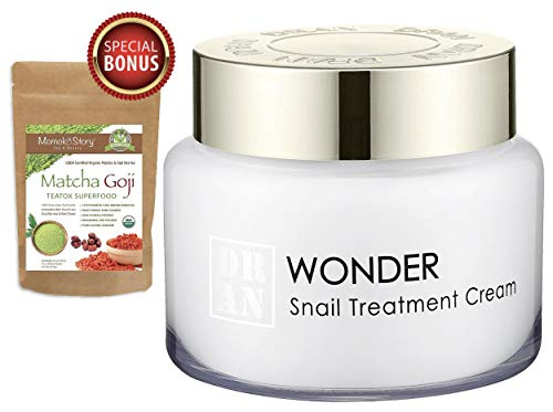 - Intensive Snail Anti-Wrinkle Treatment Firming Moisturizer Cream | Collagen Boost & Scar Spots Repair | Brightening & Soothing | 100g/3.5oz (Momoko Story)