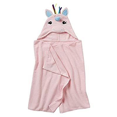 Jumping Beans Childrens Hooded Bath Towel Wrap
