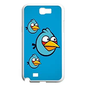 SamSung Galaxy Note2 7100 phone cases White Angry Birds cell phone cases Beautiful gifts NYTR4645254