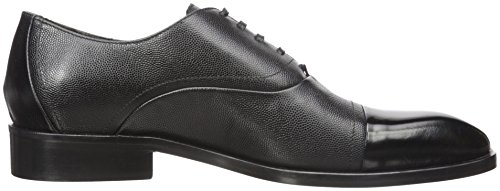 Donald J Pliner Uomo Valerico Oxford Nero Scotch Grain