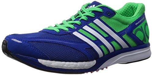 [アディダス] adidas ランニングシューズ adizero takumi ren boost M21562 M21562 (カレッジロイヤル/ランニングホワイト/フラッシュグリーン S15/25.5)