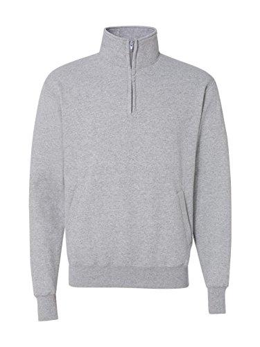 Champion Mens Eco Fleece 1/4 Zip (S400) -LIGHT STEE -XL