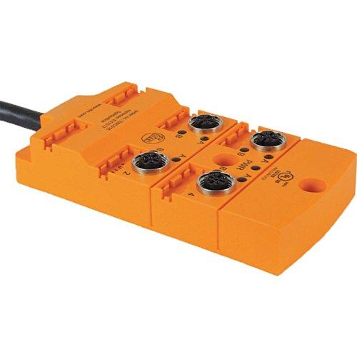 Sensor End (Ifm - EBC016 - Sensor Wiring Block, End 1 Number of Pins: 4, End 1 Keyway: Single)