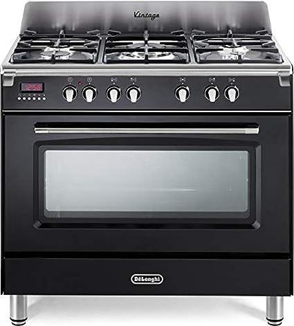 De Longhi MEM 965 NX Linea Mastercook - Cocina de gas con 5 fuegos ...