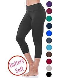 Lush Moda Soft Capri Leggings - Lots of Colors - (Fits...