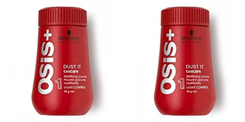 Schwarzkopf OSiS Dust It - Mattifying Powder (0.35 oz) Pack Of Two