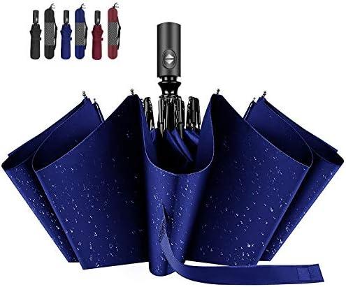 自動開閉 折りたたみ傘 軽量 大きい メンズ ワンタッチ おりたたみ傘 撥水 頑丈 晴雨兼用 折りたたみ傘 uvカット 100 遮光
