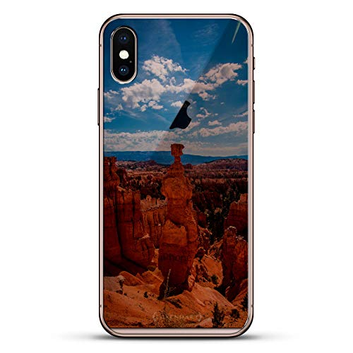 Nature: Canyon Seethrough | Luxendary Un-Case Series Designer Glass Back-Plate for iPhone Xs/X