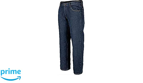Oxford Blue 36 Fly Racing Resistance Heavy Weight Mens Motorcycle Jeans