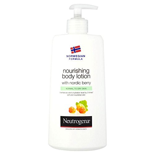 Neutrogena Norwegian Formula Nourishing Body Lotion with Nordic Berry (400ml) - Pack of 2