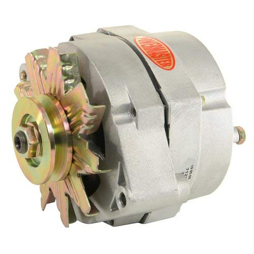 Powermaster Performance 47127 Natural Alternator (10SI 100A 1V Pulley 1 or 3 Wire)