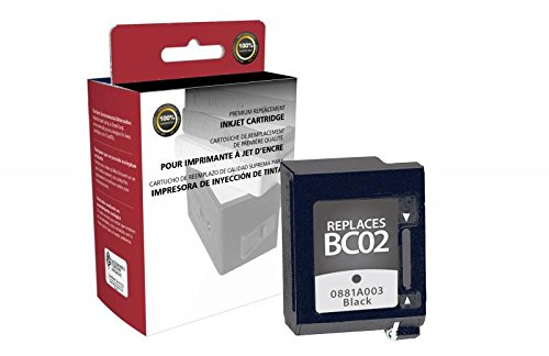 Bc02 Black Cartridge - Inksters Remanufactured Black Ink Cartridge Replacement for Canon BC-02