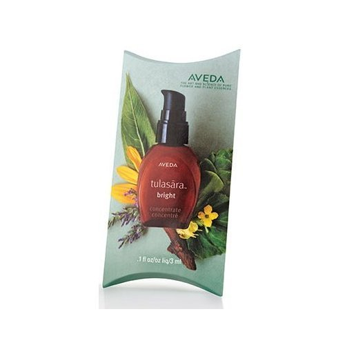 Aveda Tulasara Concentrate Serum, Travel/Sample Size, .1 Fl Oz ~ Bright