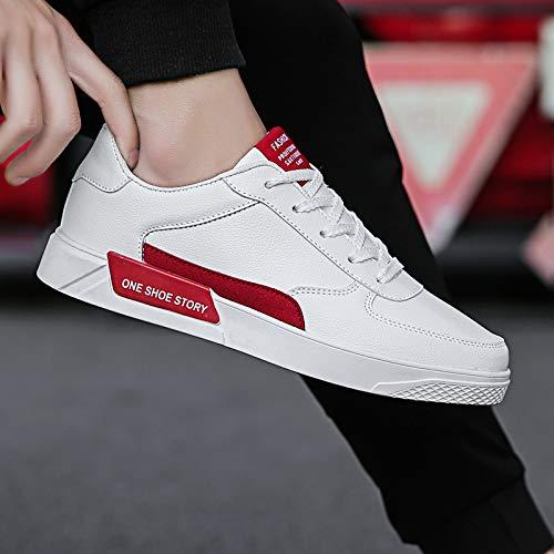Hiver Blanc Sneakers De Tendance slip Étudiant Adolescents Nanxieho Automne Petit Hommes Non Chaussures Loisir Sport Et qpYpUg7WE