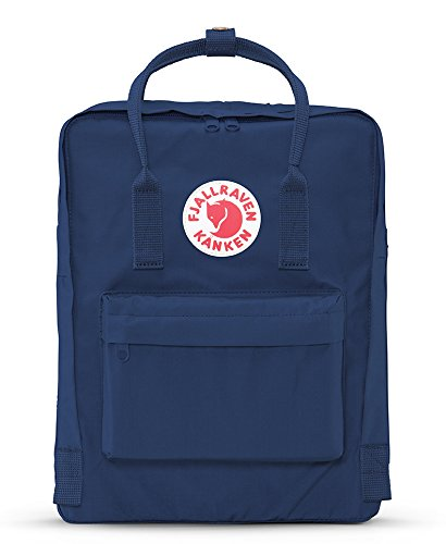 Fjallraven - Kanken Classic Pack, Heritage and Responsibility Since 1960,One Size,Royal Blue