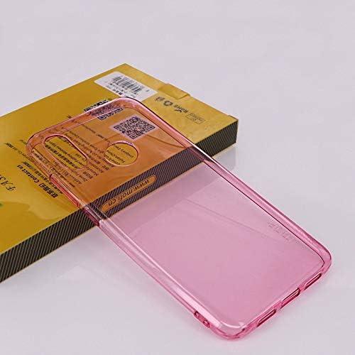GHPCase MOFI TPU Estuche Transparente para Xiaomi Mi 8 (Color : Rosado): Amazon.es: Electrónica