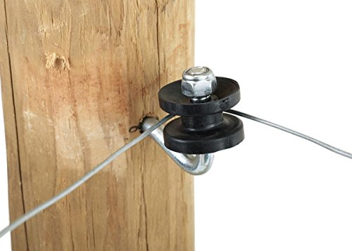 Dare Products Electric Fence - DARE PRODUCTS 831915 corner Post Bracket Kit with Insulator , 10 Pack