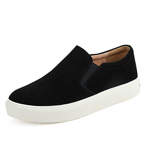 Lok Fu Zapatos Primavera,Jurchen Plataforma Zapatos De Cuero,Zapatos Planos De Las Mujeres,Zapatos De Los Estudiantes Coreanos A