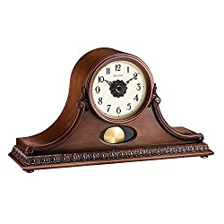 Bulova Hyde Park Mantel Clock, Cherry