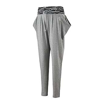 Zumba Funky Harem Pants, Thunderin Gray, XS