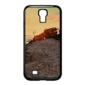 Sunrise Watercolor style Cover Samsung Galaxy S4 I9500 Case (Beach Watercolor style Cover Samsung Galaxy S4 I9500 Case)