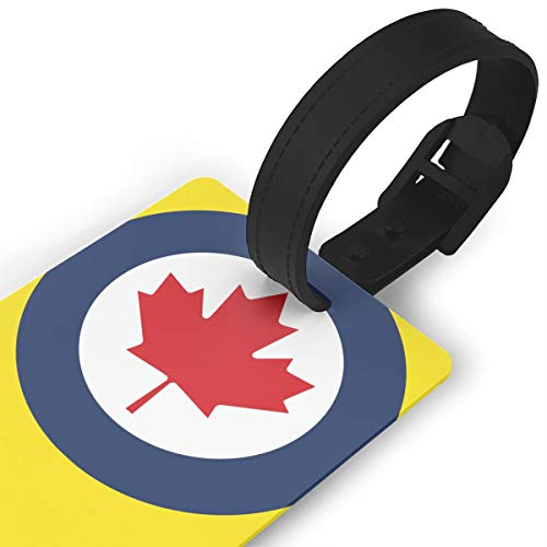 KODW12 Roundel of Canada Luggage Tag Travel Bag Labels Suitcase Bag Tag Name Address Cards by KODW12 (Image #2)