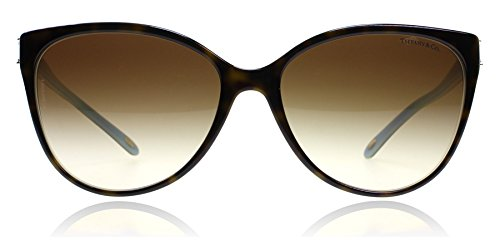 Tiffany TF4089B 8134-3B Tortoise TF4089B Cats Eyes Sunglasses Lens Category 3 - Tiffany Sunglasses
