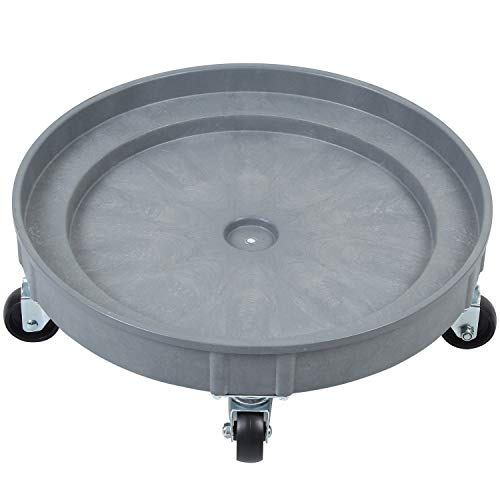 Amarite Plastic Drum Dolly for 30 gal and 55 gal Drums, 900 lb. Capacity (Weight Of 55 Gallon Drum Of Oil)