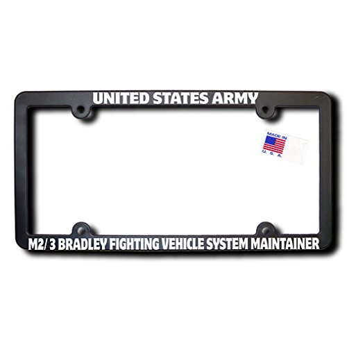 Army Fighting Vehicles - US Army M2/3 BRADLEY FIGHTING VEHICLE SYSTEM MAINTAINER License Frame