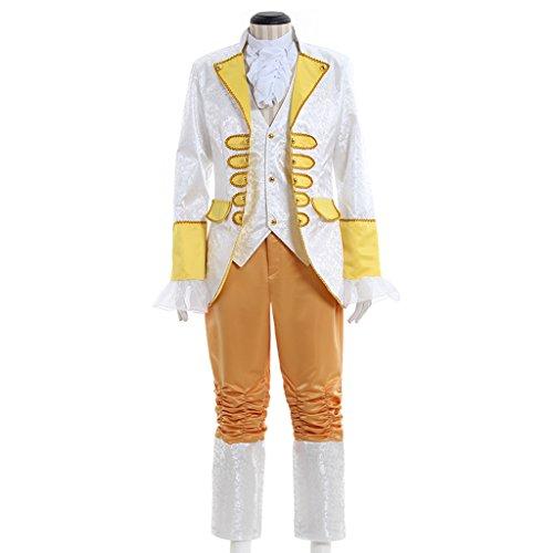 1791's lady Men's Costume Victorian Edwardian Era Regency Coat/Vest/Trousers Set (Edwardian Era Costumes)