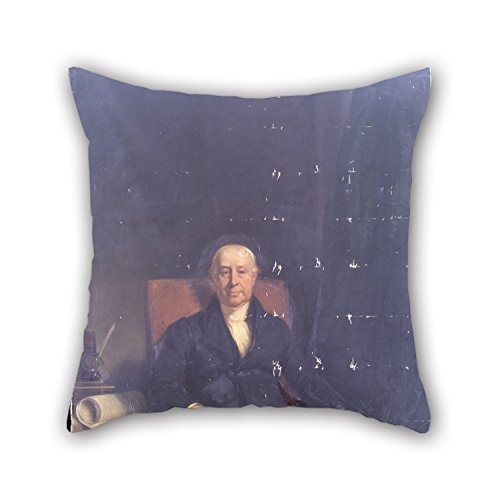 Bestseason The Oil Painting Briggs, Henry Perronet - Charles Druce Pillowcase Of ,20 X 20 Inches / 50 By 50 Cm Decoration,gift For Bar,bf,bedroom,bedroom,study Room,drawing Room (both Sides)