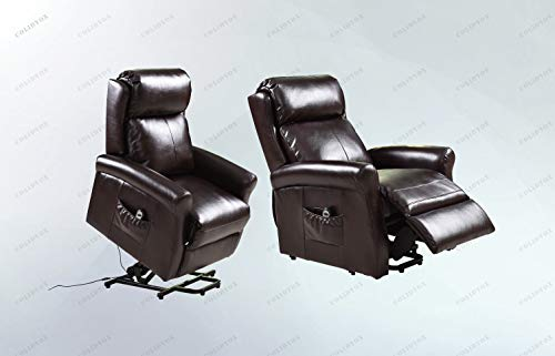 - COLIDYOX>Electric Luxury Power Lift Recliner Chair Livingroom Leather Lazy Affordable, Simple Two Button Control, Smooth, Whisper Quiet Lift and Recline,Lift chair can be adjust to any position that m